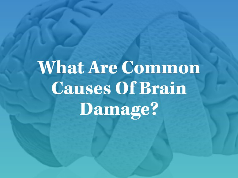 What are common causes of brain damage? Kansas city brain injury lawyers