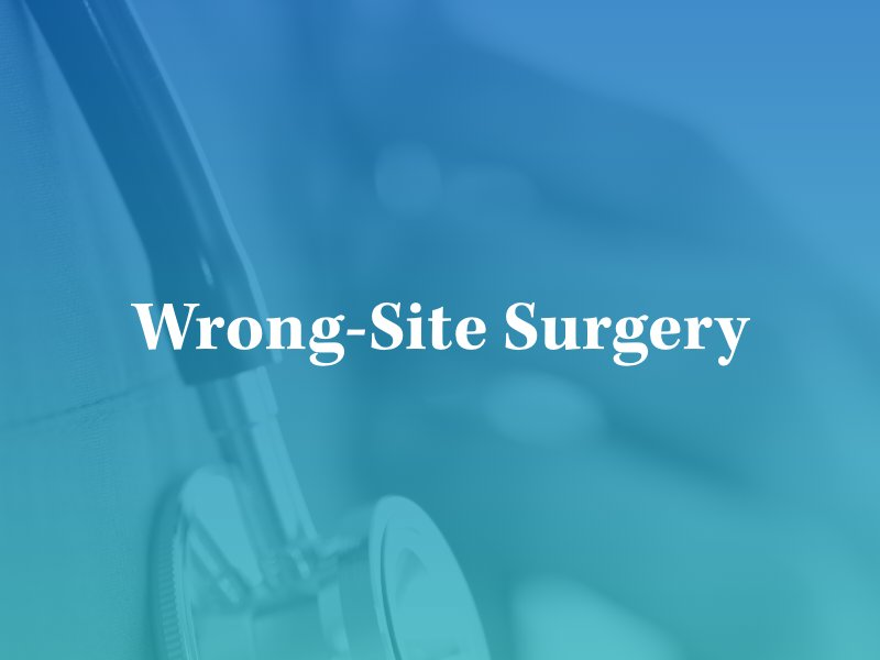 wrong-site surgery